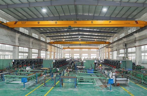 mechanized factory of quality and efficiency