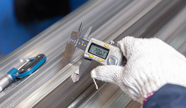 stainless steel dimension inspection