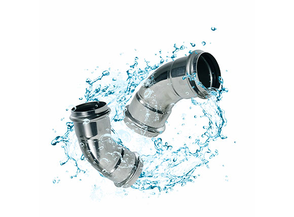 Stainless Steel Double Clamping fitting 1